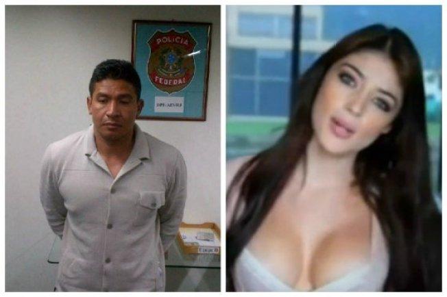 Habla novia de narco detenido
