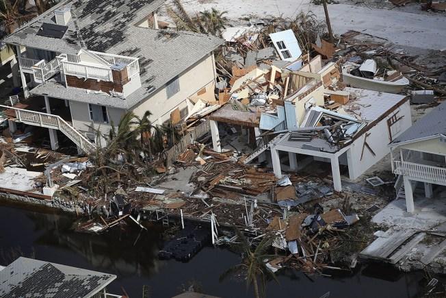 Cuba reporta 10 muertos por Irma y en Georgia van 3