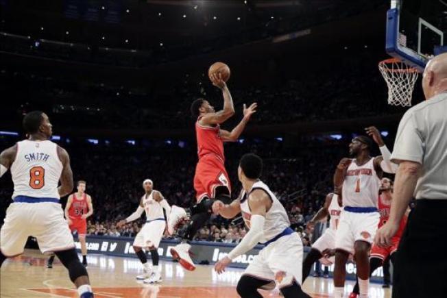 Bulls apabullan a Knicks a domicilio