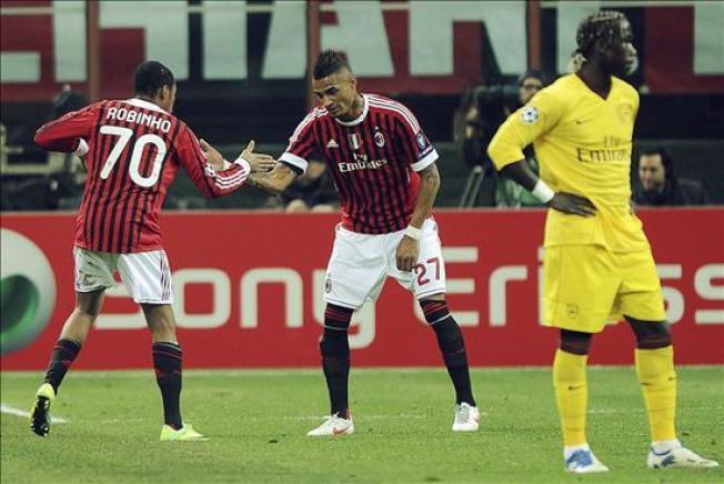 """El Milán anula al Arsenal y se encamina al fin de su """"maldición inglesa"""""""