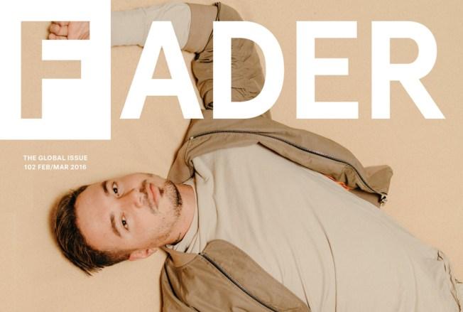 """J Balvin aparece en la portada de """"The Fader"""""""