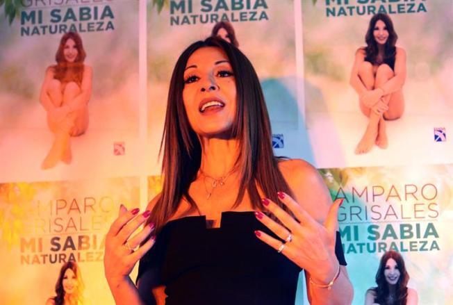 Amparo Grisales presenta su receta de la eterna juventud