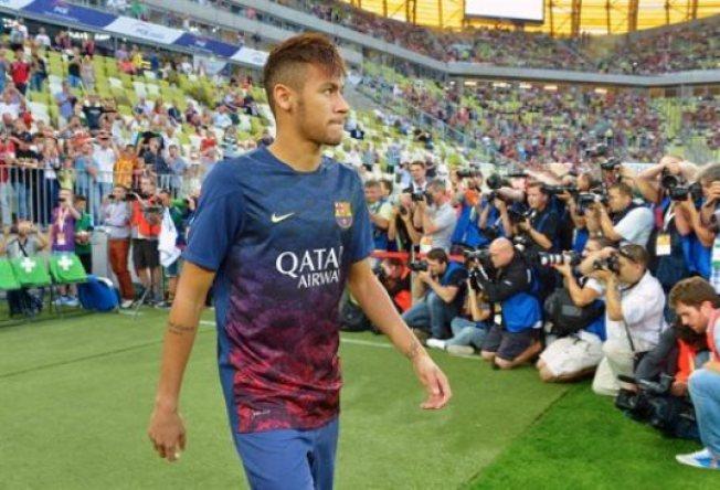 Debut de Neymar, visto y no visto