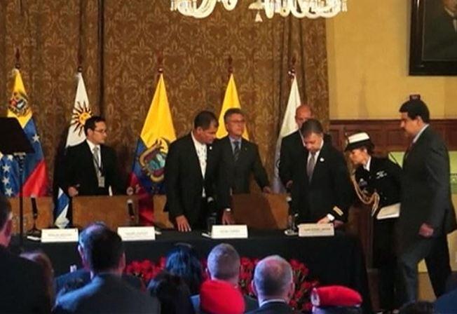Maduro y Santos retornan a sus embajadores