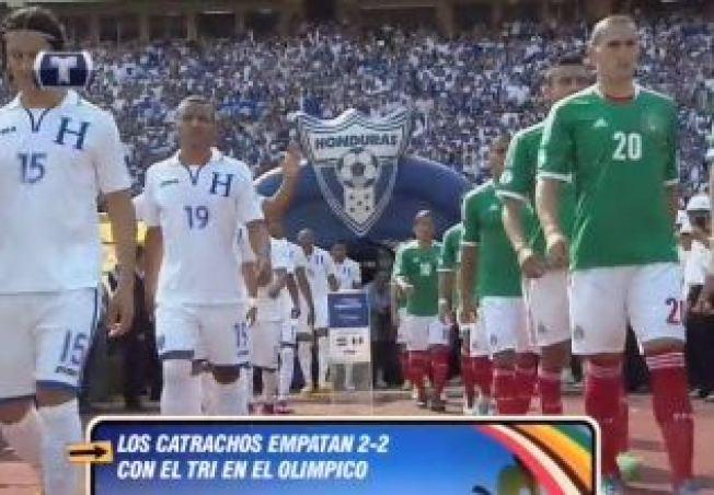 México y Honduras firmaron un empate