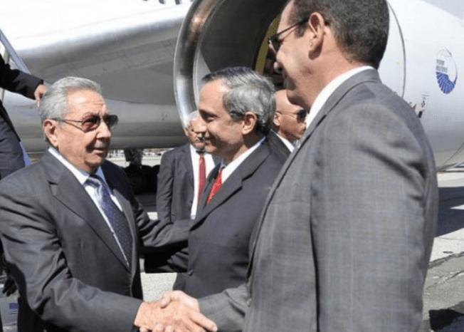 Raúl Castro arriba a Nueva York