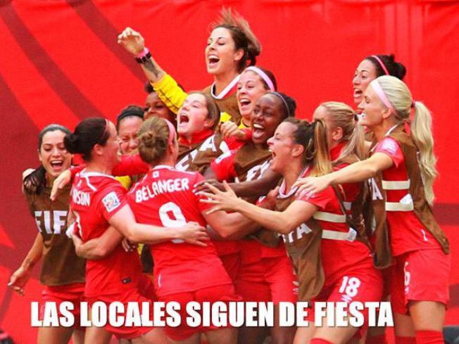 Canadá elimina a Suiza y avanza a cuartos de final