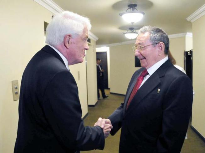 Raúl Castro se reunió con Thomas Donohue