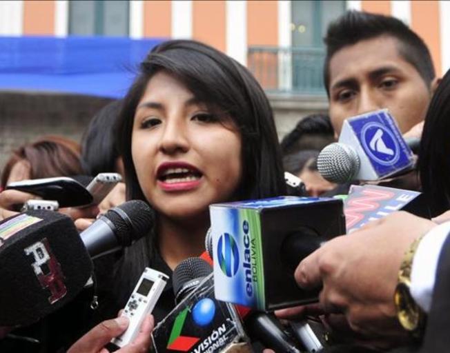 Hija de Evo Morales se lanza a la política