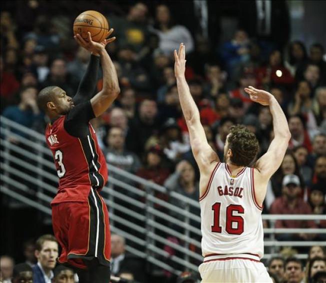 Sensacional victoria del Heat sobre los Bulls