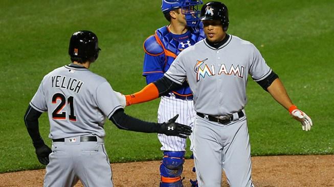 Los Miami Marlins apalean a los Mets