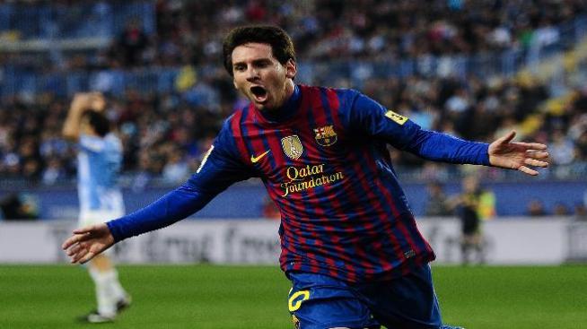 Con tres goles de Messi, Barcelona volvió a ganar.