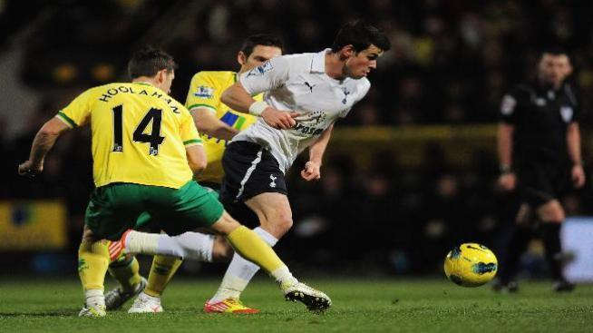Sensacional Gareth Bale en triunfo del Tottenham