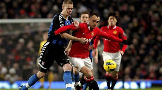 El Manchester United empata con el City en lo alto de la Premier