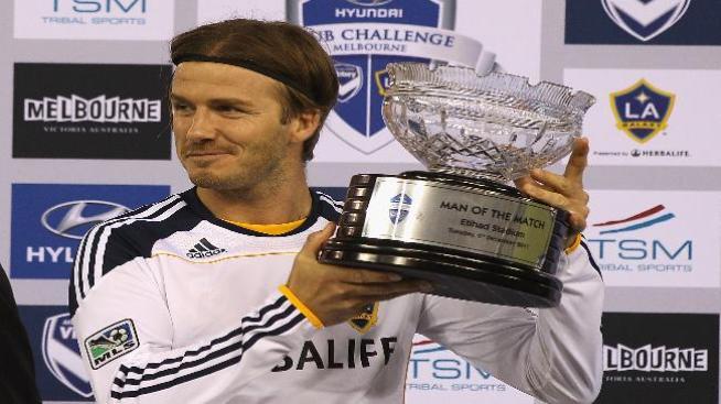 Beckham ansía jugar en los Olímpicos