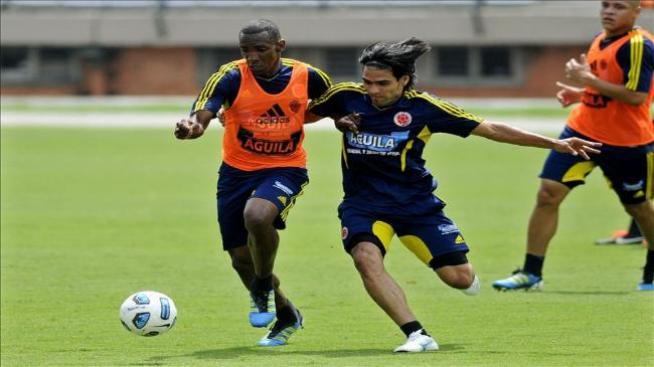 Radamel Falcao y Amaranto Perea convocados para el amistoso frente a México