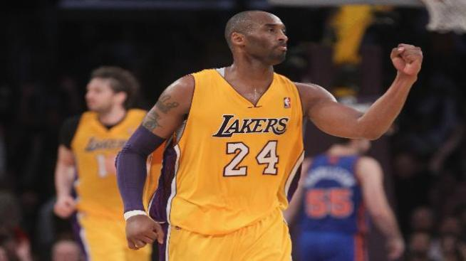 Kobe Bryant llegó a los 28 mil puntos pero su equipo perdió