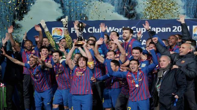 Barcelona gana el Mundial de Clubes