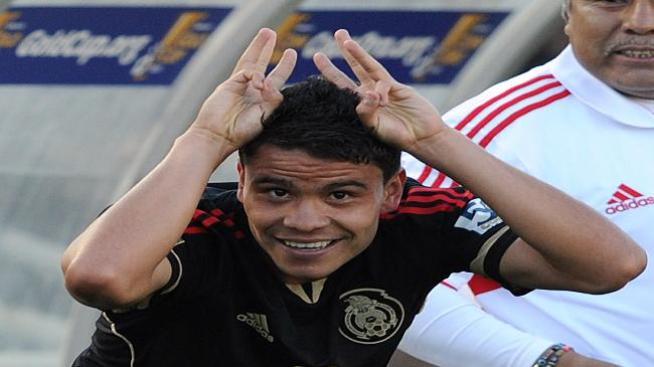 Luis Suárez dedicó su gol a su futuro hijo
