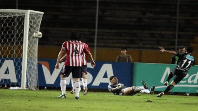 Humillan a Chivas en la Libertadores