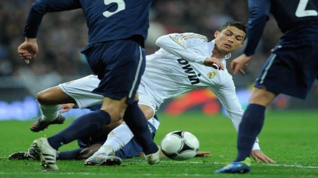Real Madrid remonta para vencer a Málaga en Copa del Rey