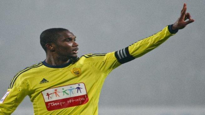 Galaxy lanza una gran oferta a Samuel Eto'o