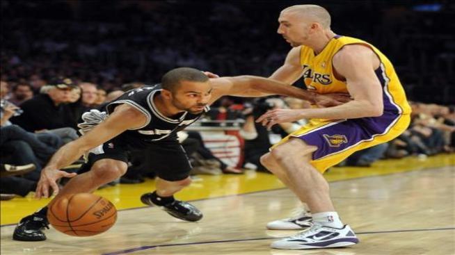 Un Parker imparable acaba con racha de Lakers