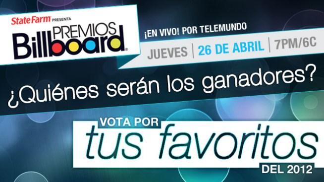 Billboard: vota por tus favoritos