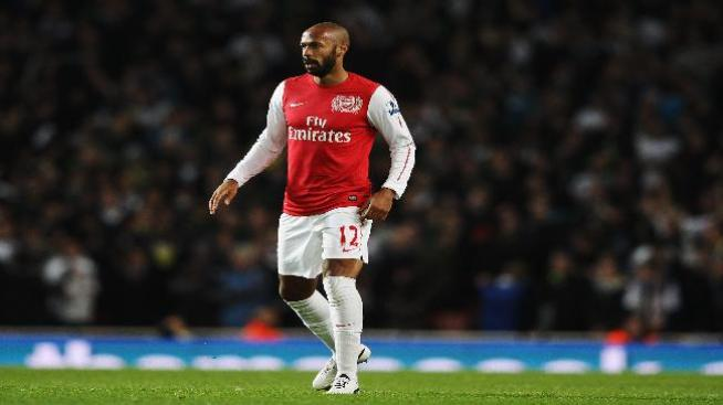 Regreso triunfal de Henry con Arsenal