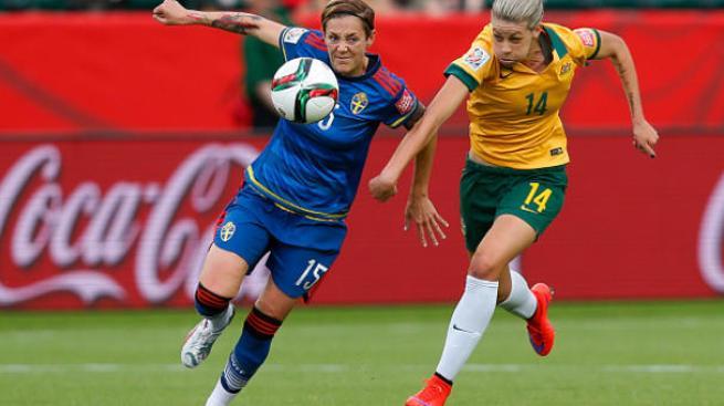Australia empata con Suecia y clasifica