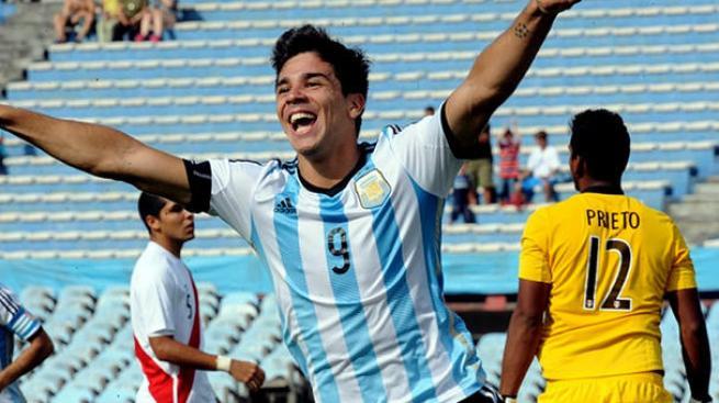 Giovanni Simeone: Argentina Sub-20