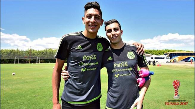 Edson Álvarez y Alejandro Mayorga viajarán a la Confederaciones