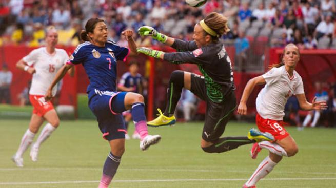 Japón defiende su título, vence a Suiza