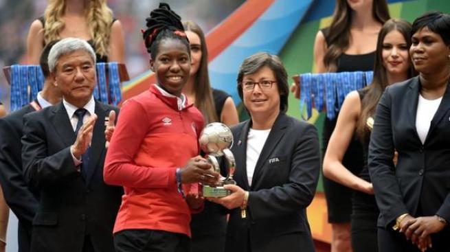 Buchanan, mejor jugadora joven de Canada 2015