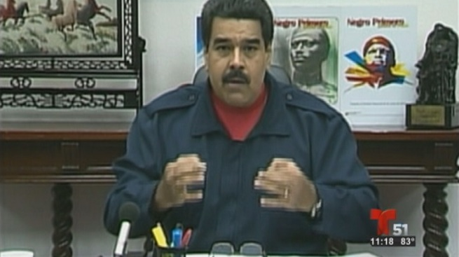 "Maduro llama ""pelucón"" a Donald Trump"