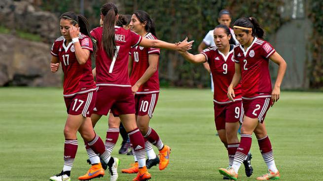 La selección mexicana femenil derrota a Costa Rica