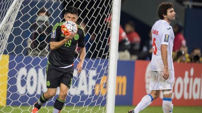 Copa Oro, el más valioso del día: Oribe Peralta