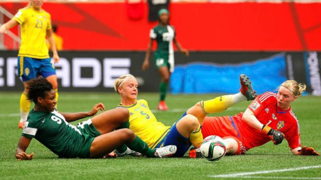 Reñido empate entre Suecia y Nigeria