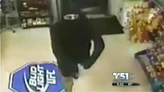 Ladrón-ninja hace de las suyas