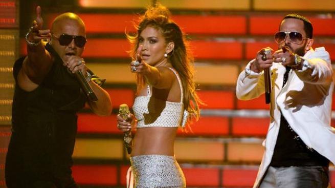 J.Lo caliente con Wisin & Yandel