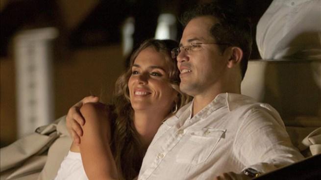 Esposa de Juanes con Leguizamo