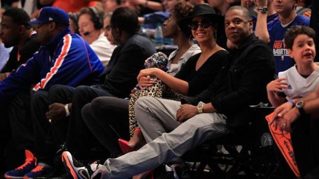 Beyoncé: Let's Go Knicks!
