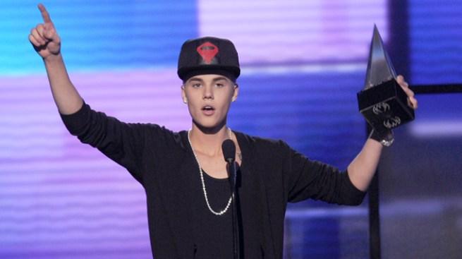 Bieber gran ganador de los AMA