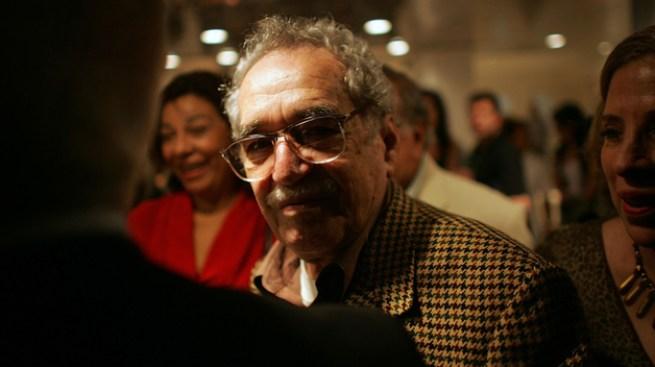 Gabo, con demencia senil