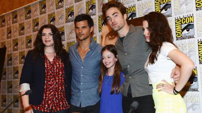 Twilight causa sensación en Comic-Con