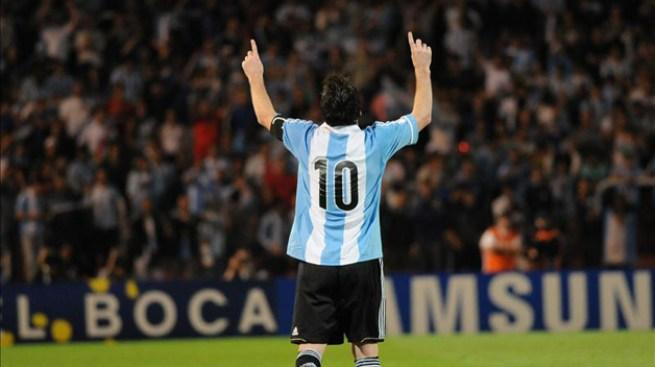 Argentina derrota a Uruguay