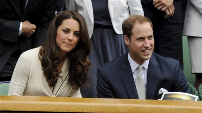 Guillermo y Catherine en Wimbledon