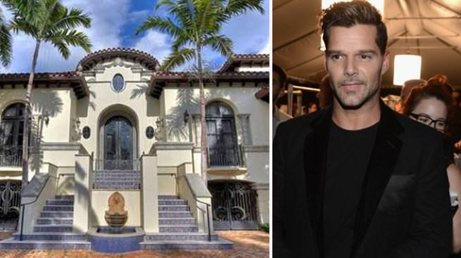 Ricky vende mansión en Miami