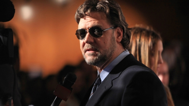 Socorren a Russell Crowe