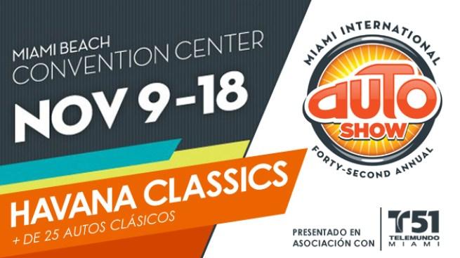 Miami International Auto Show presenta Havana Classics